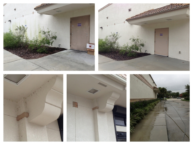 Storefront Pressure Cleaning Orlando