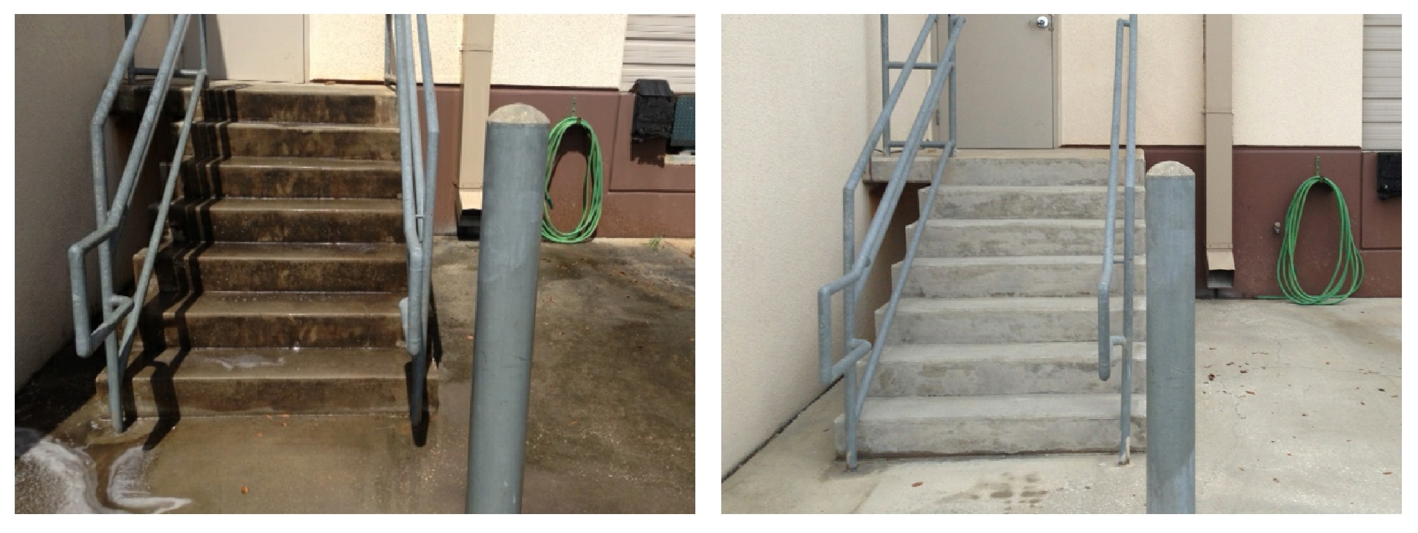 Orlando 39 s premier pressure washing service for Commercial concrete cleaner