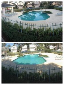 Community Pool Area Pressure Cleaning Orlando