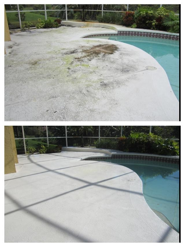 Pool Deck PressureWashing Windermere