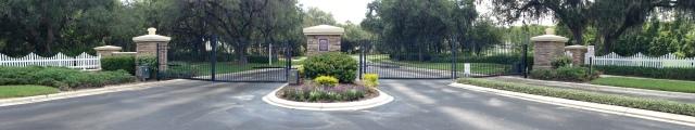 Subdivision Entrance Pressure Washing Orlando, Windermere / Central Florida area.