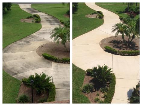 Driveway Pressure washing Winter Garden, FL