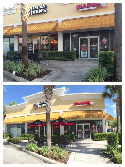 Shopping Center Pressure Washing and cleaning Orlando, FL