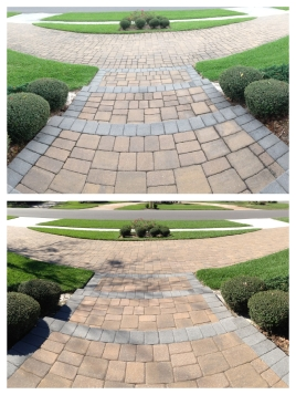 brick paver pressure cleaning winter park, Winter Garden, Windermere, FL