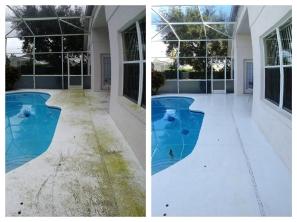 Screen Enclosure pressure Cleaning Orlando