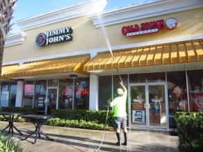 Shopping Center Pressure Washing Orlando