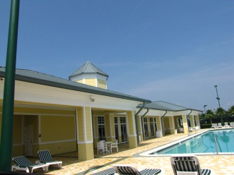 Community Pool Area / clubhouse Pressure Cleaning Orlando