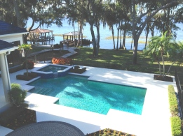 pool deck cleaning winter garden