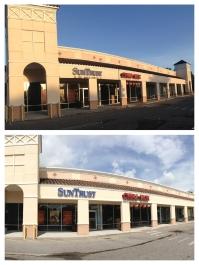 Shopping center Power washing Orlando