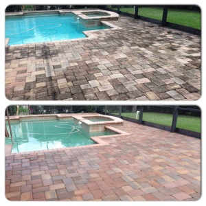 brick paver pressure cleaning orlando