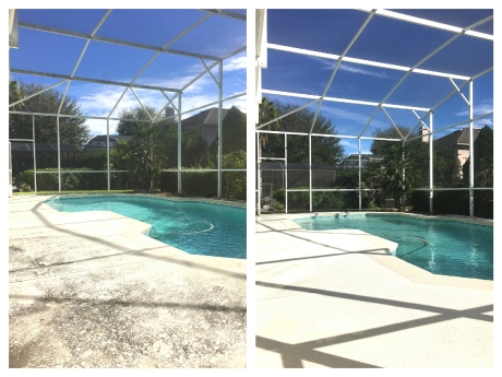 Pool Deck Cleaning Orlando