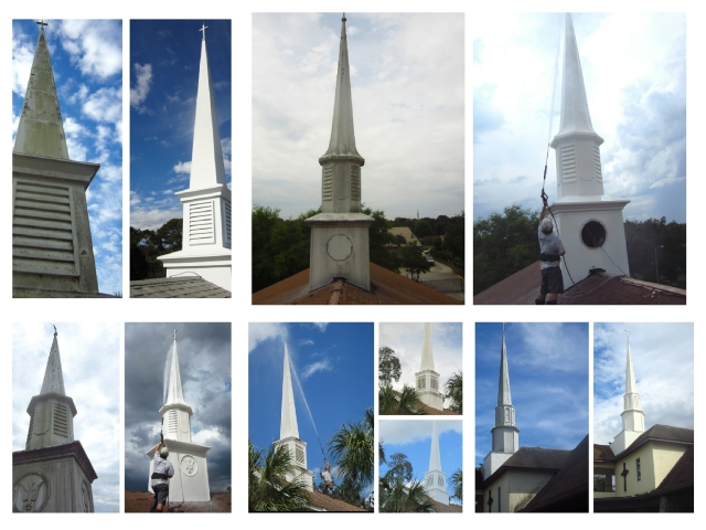 Steeple Cleaning Orlando