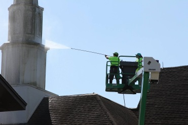 Church Steeple Pressure Washing Orlando