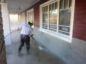 Hot Water Pressure Washing Orlando