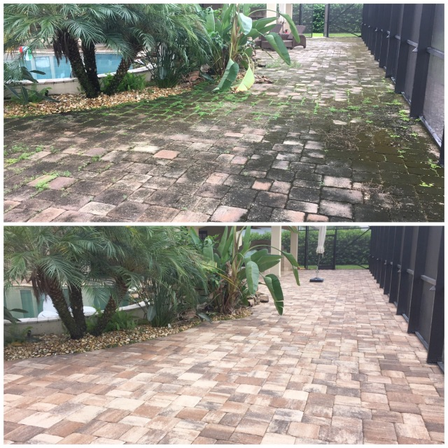 Paver Cleaning Orlando FL