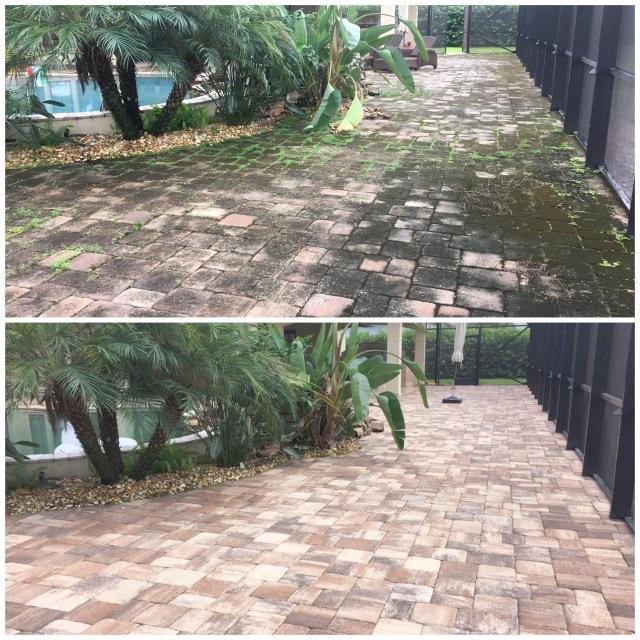 Paver Cleaning Orlando FL