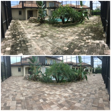Paver Cleaning Windermere FL