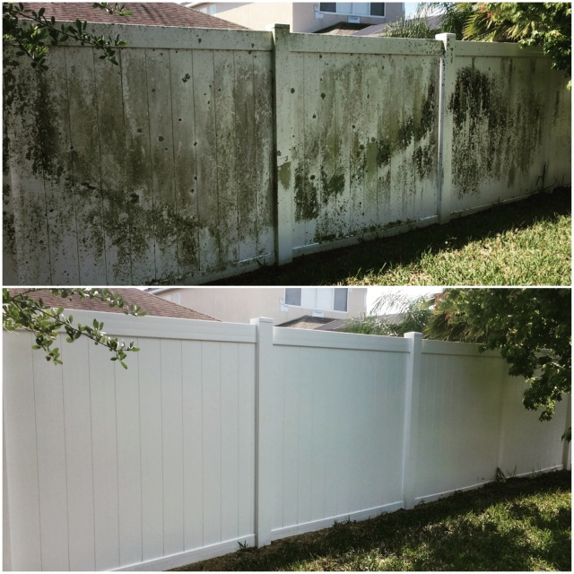 Vinyl Fence Cleaning Orlando